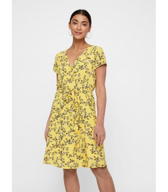 Vestido corto Diana flores Vero Moda