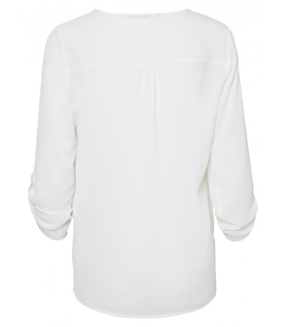 Blusa Sasha blanco 3/4 Vero Moda