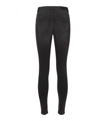 Jeans pitillo gris Vero Moda bolsillos traseros