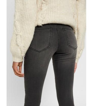 Jeans pitillo gris Vero Moda parte atrás