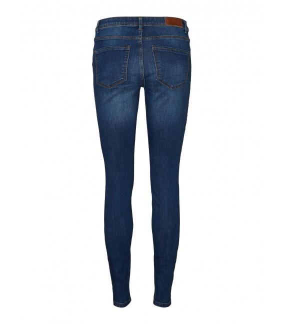 Jeans pitillo azul Vero Moda bolsillos traseros