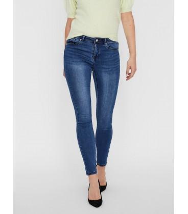Jeans pitillo azul Vero Moda delante