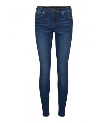Jeans pitillo azul Vero Moda bolsillos delanteros