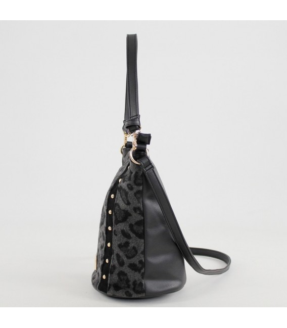 Bolso cubo animal print For Time