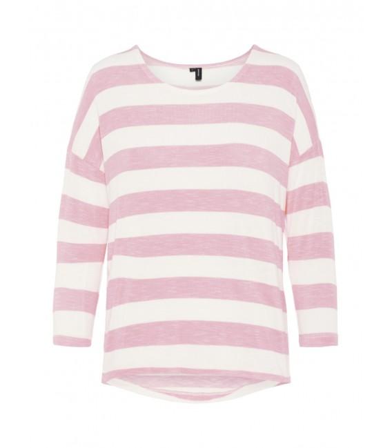 Jersey rosa de punto Wide Vero Moda