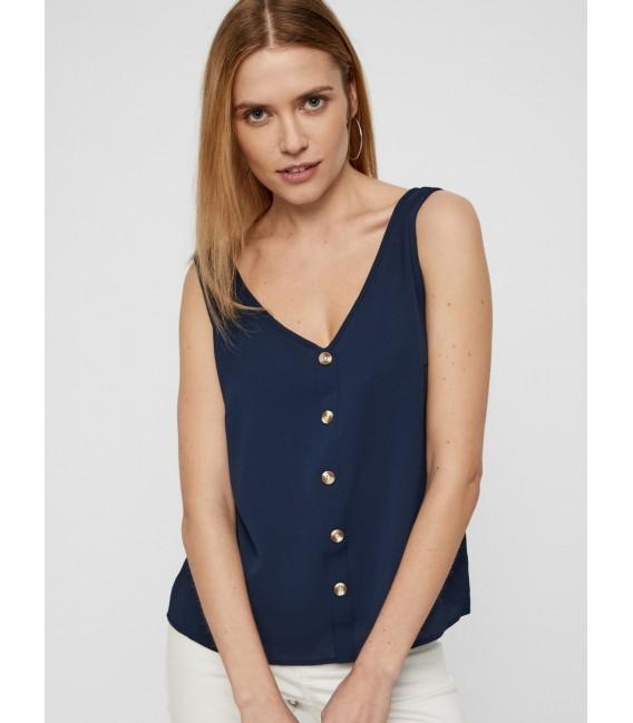 Blusa Sasha navy Vero Moda